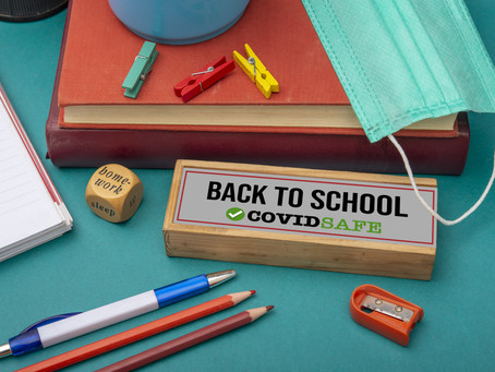 Re-Opening of School: September 2020
