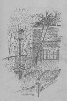 Genie House Hand Drawn