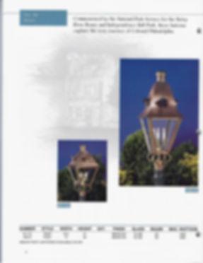 81112, 43012 Post Lantern