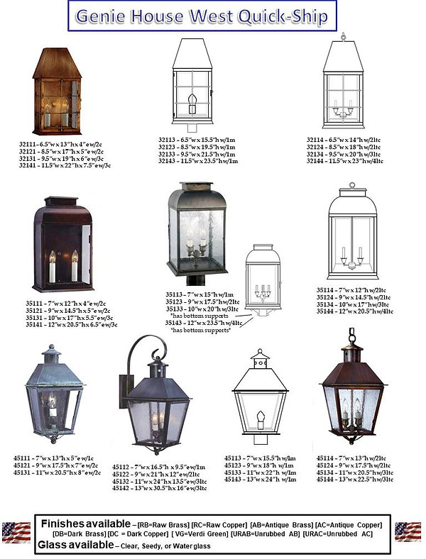 Quick Ship Lanterns, Quick Ship Indoor Lights, Quick Ship Outdoor Lights, Quick Ship Wall Lights, Quick Ship Post Lights, Quick Ship Chain Lights, Quick Ship Bracket Lights