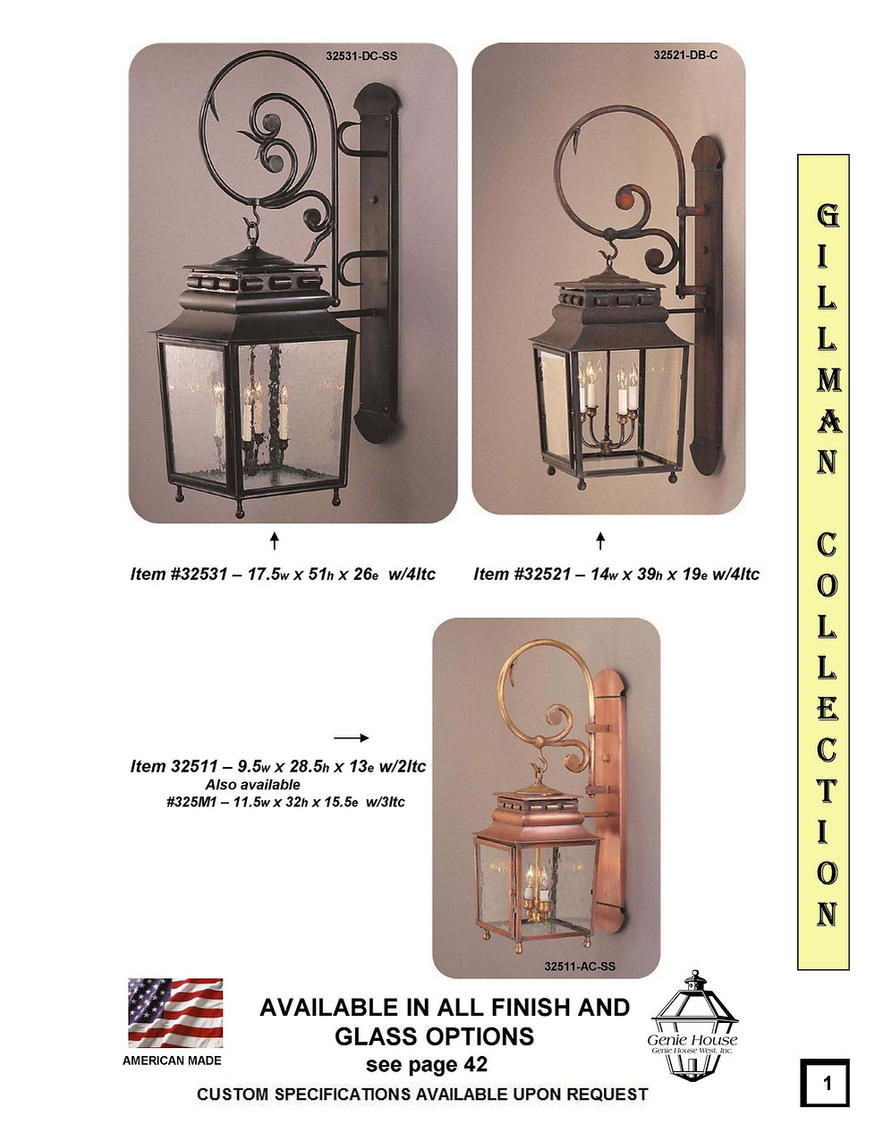 Lantern - Gillman 325 Series