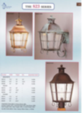 823 Series Pendant Wall Post
