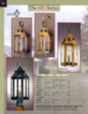 680 Series Wall Lantern, Post Lantern, Chain Lanterm