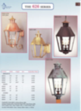 626 Series Bracket Wall Pendant Post