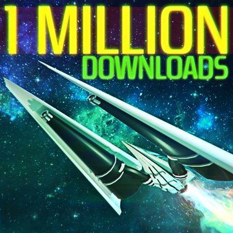 Over 1 Million downloads on Musiverse!