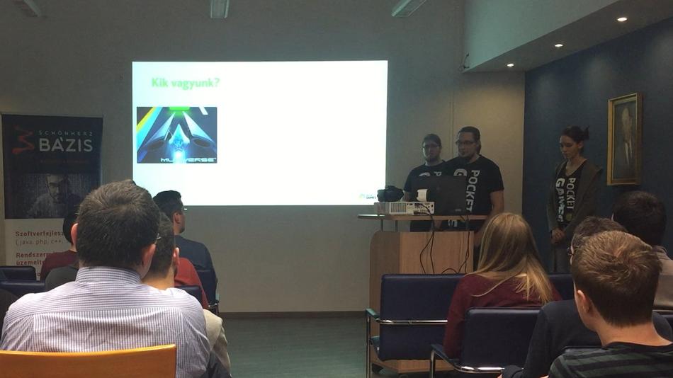 Presentation at Schönherz