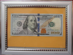 $100 Picture Frame