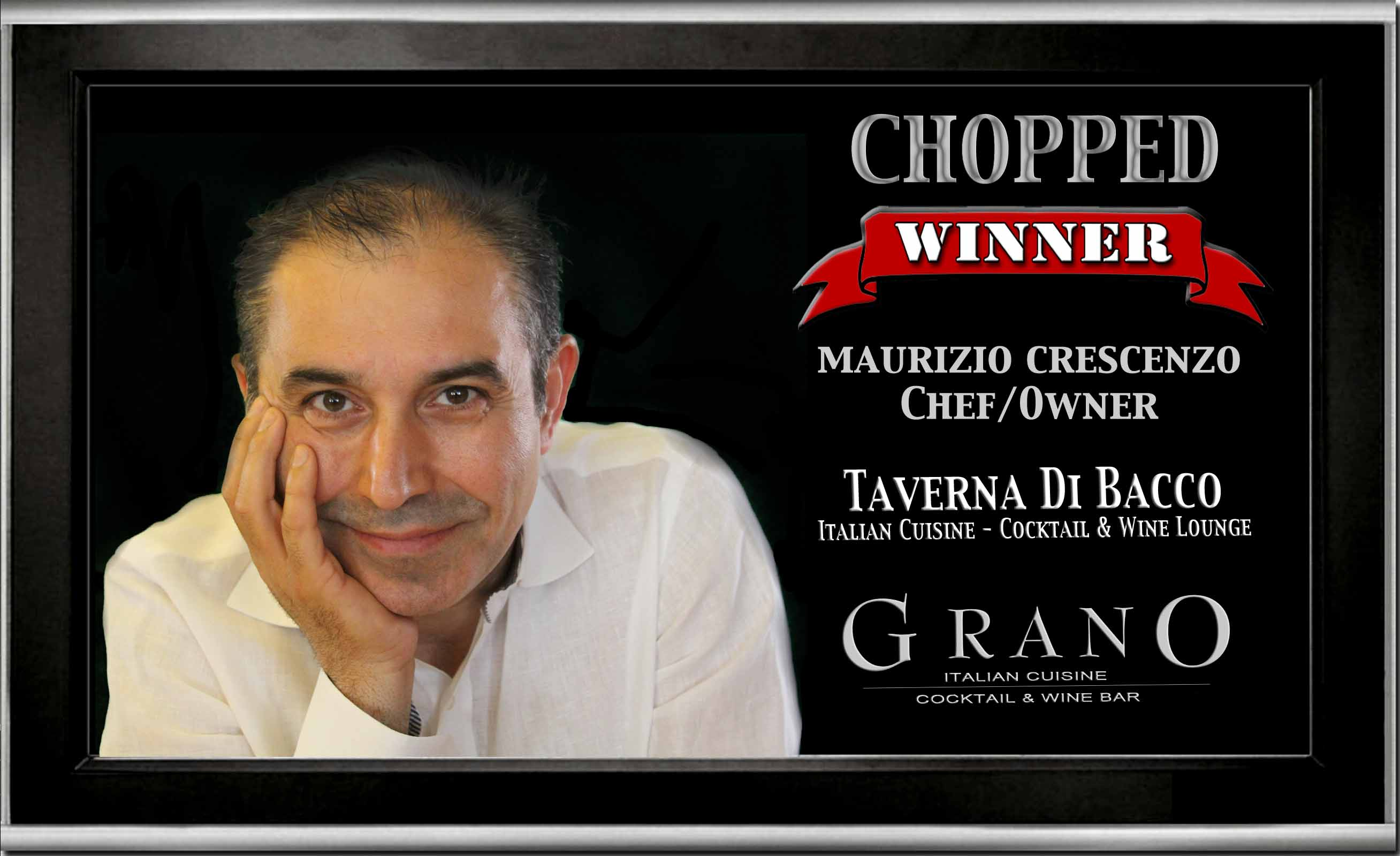 Grano wins Chopped @ FoodNetwork