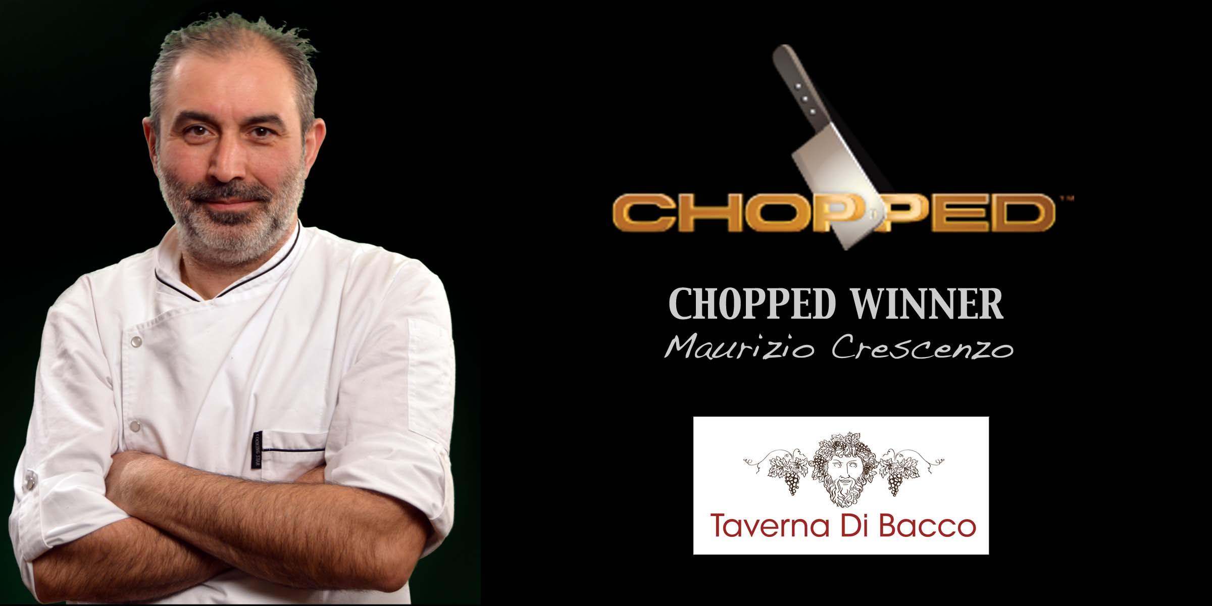 Bacco wins Chopped @ FoodNetwork