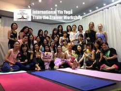 EInternational Yin Yoga Train the Trainer Workshop