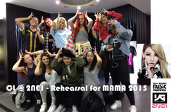 ECL _ 2NE1 - Rehearsal for MAMA 2015