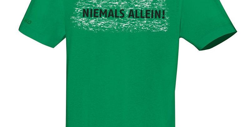 JAKO Kinder Hannover 96 T-Shirt Niemals Allein 2.0 weiß