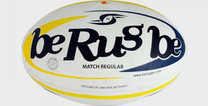 Ballon MATCH REGULAR T.5 - BE RUGBE