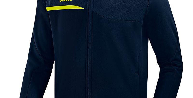 JAKO Unisex Veste club Prestige marine-lemon