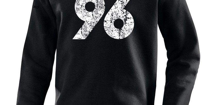 JAKO Herren Hannover 96 Sweat Vintage schwarz
