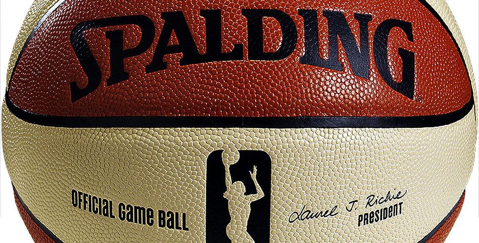 Ballon femme OFFICIAL WNBA 6 PANELS GAME BALL