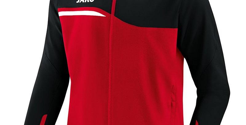 JAKO Unisex Veste de loisir Competition 2.0 rouge-noir