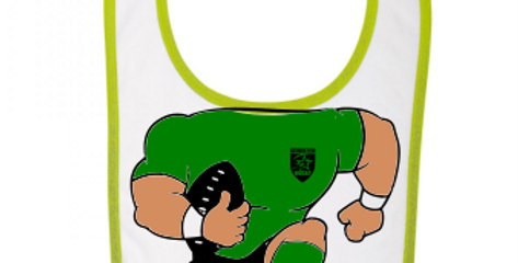 Bavoir Graine de Rugbyman EDBR