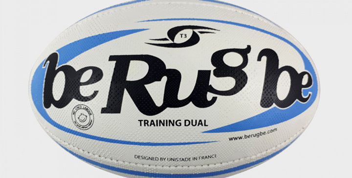 Ballon TRAINING DUAL T.3 - BE RUGBE