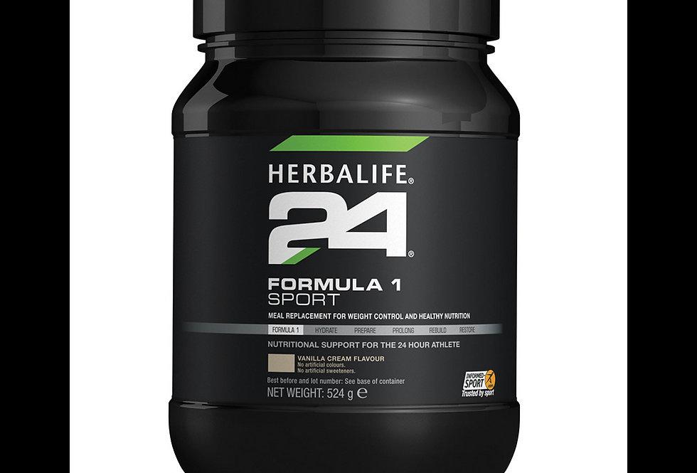 Herbalife24 - Formula 1 Sport - Nouvelle formule Vanille 524 g