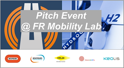 Pitch Event @ French Mobility Lab