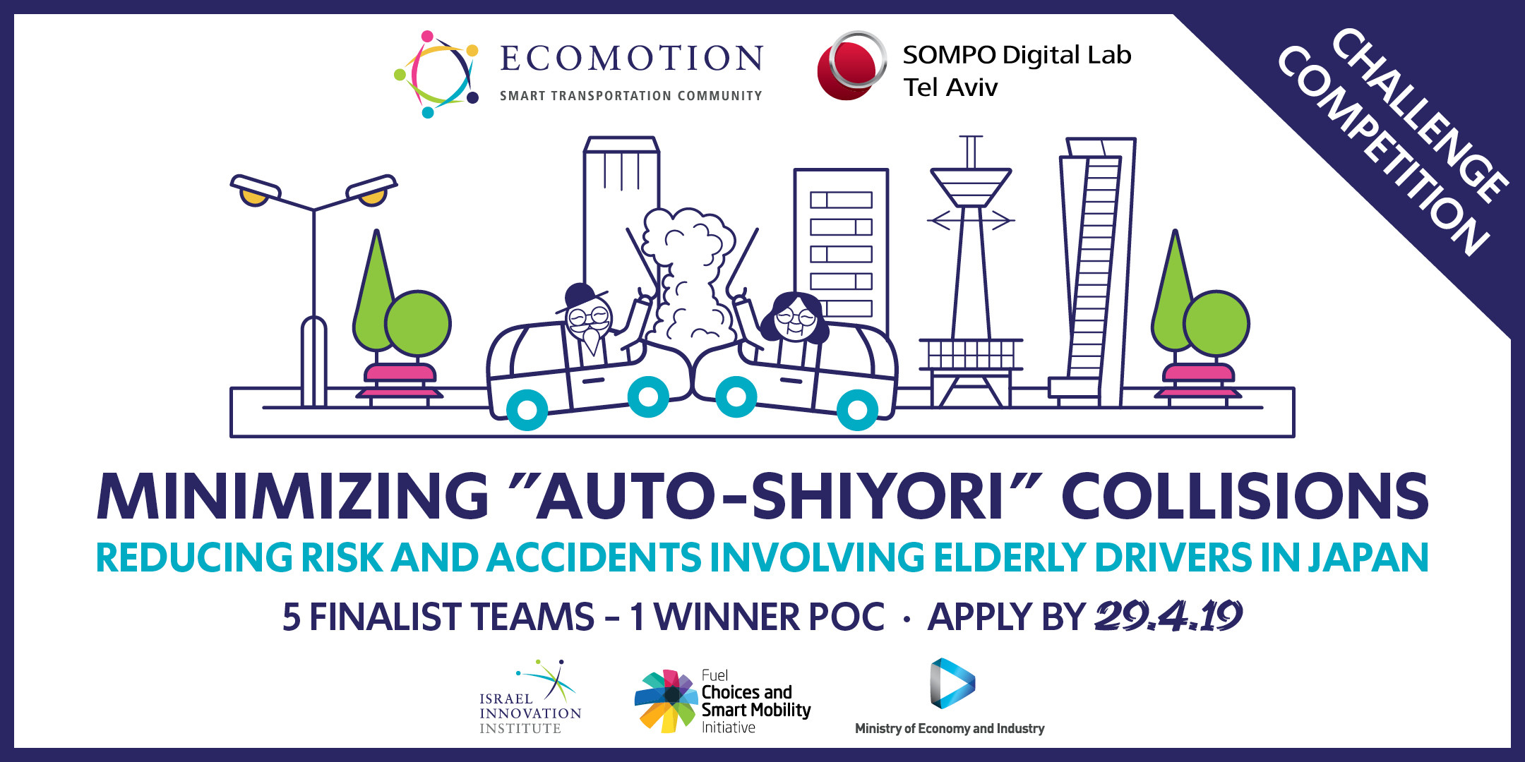 Sompo Digital Lab Tel Aviv Challenge Competition | EcoMotion
