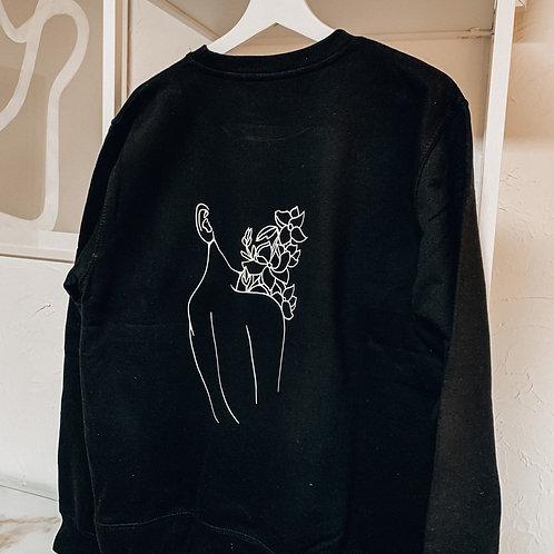 """Sweater """"Flower Girl"""""""