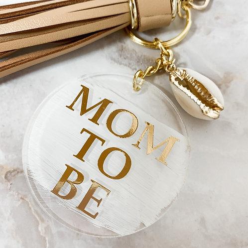 "Schlüsselanhänger ""Mom to be"""