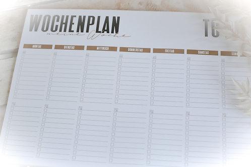 Wochenplan A4