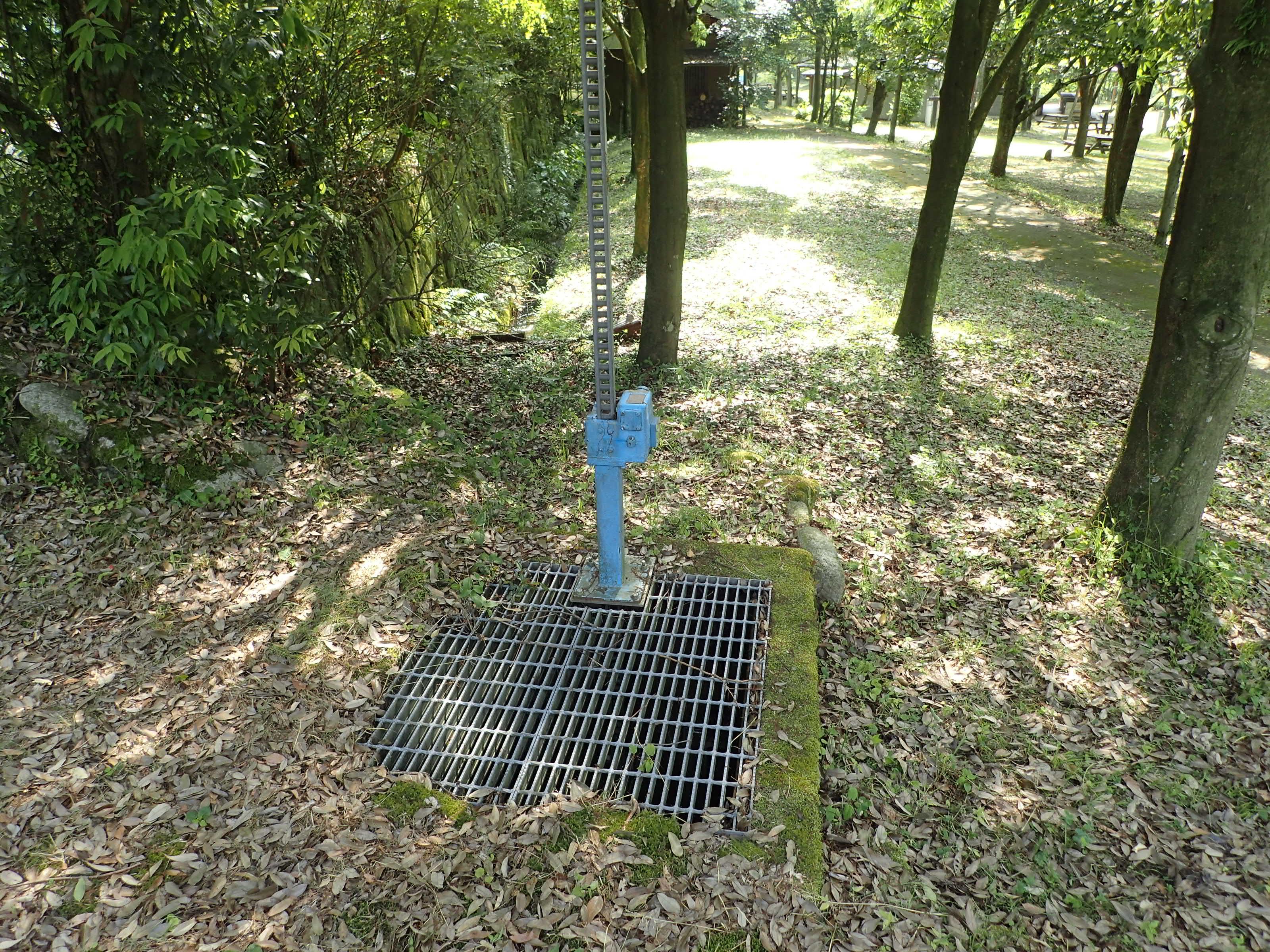 取水地点のゲート