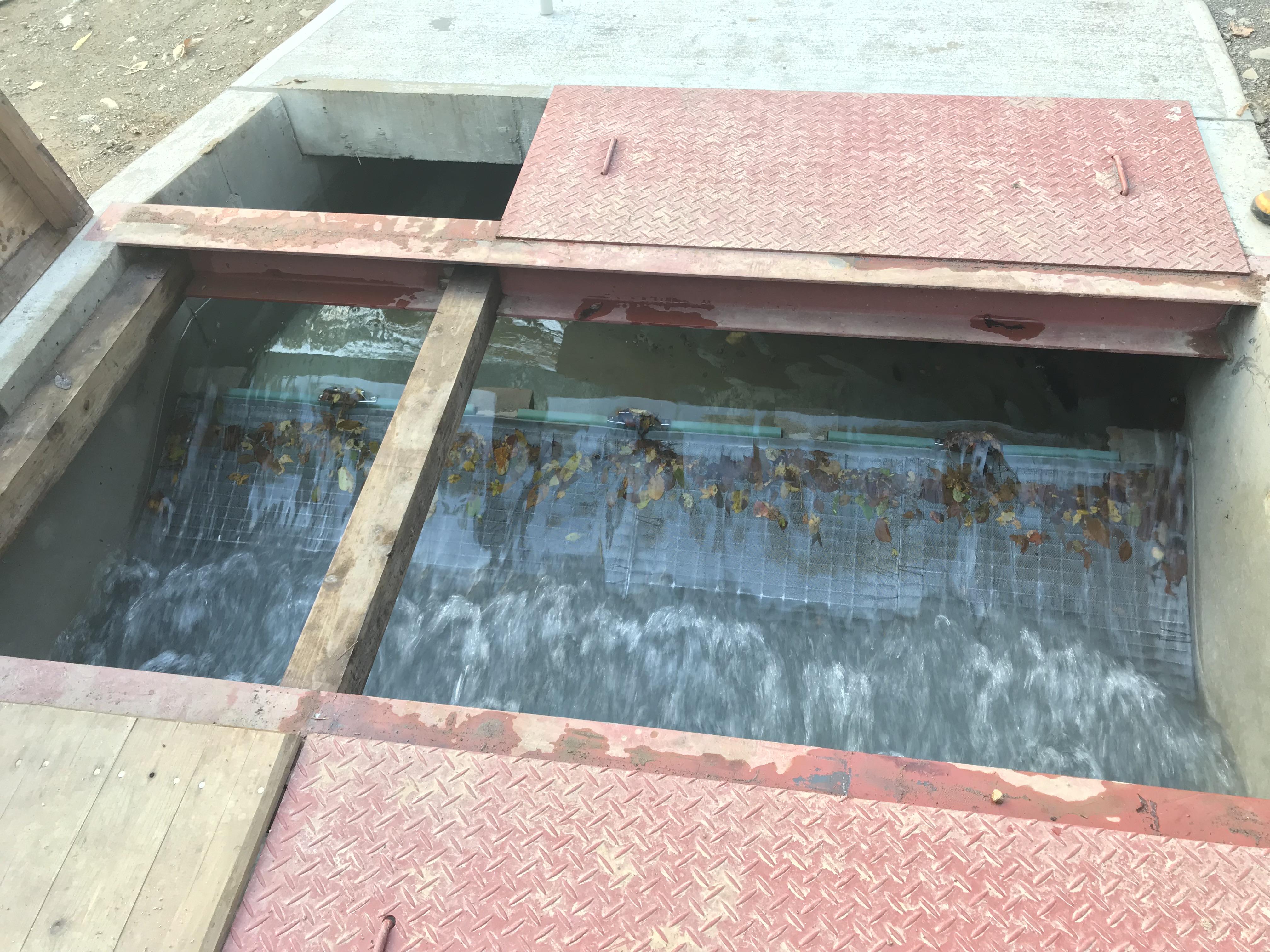 除塵システム:ゴミの詰まりもなく順調