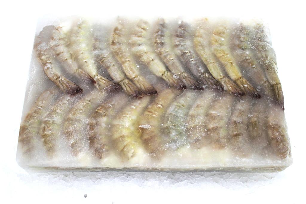 Tiger Shrimps Head-less (Block)