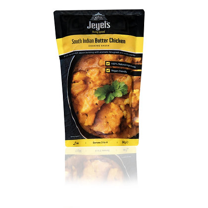 Jeyel's South Indian Butter Chicken Cooking Sauce 340g