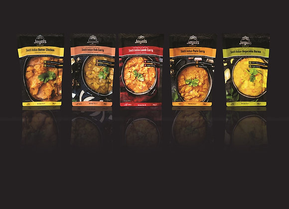 Ultimate Curry Sauce Collection