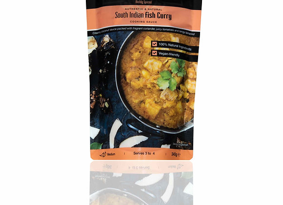 South Indian Fish Curry Cooking Sauce