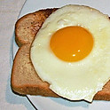 One Egg w/ Toast