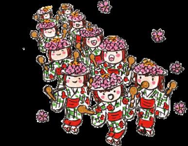 博多三氣瑞穂店の博多どんたくイメージ