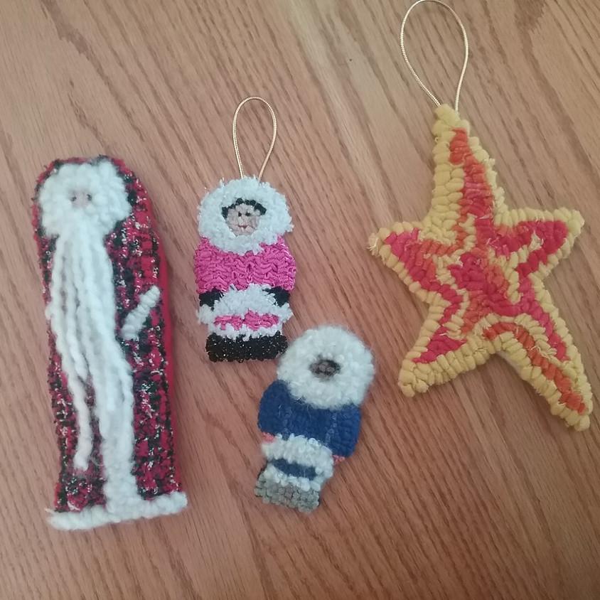 Hooked Christmas Ornaments - Saturday November 23