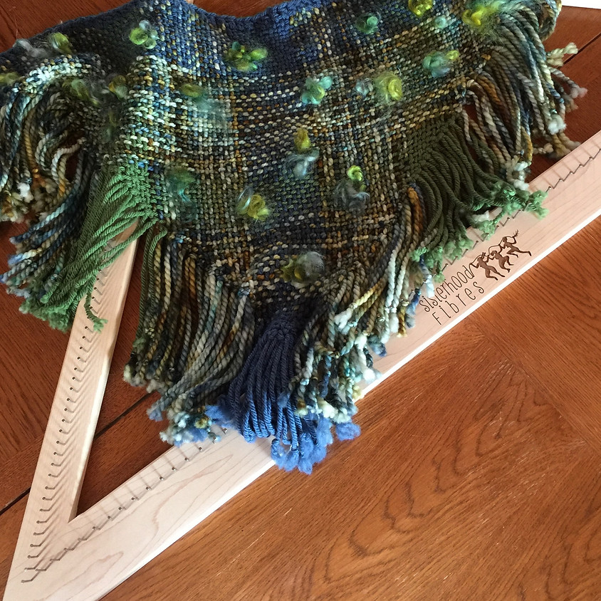Learn to weave on a Tri-Loom - May 2 and 3, 2020