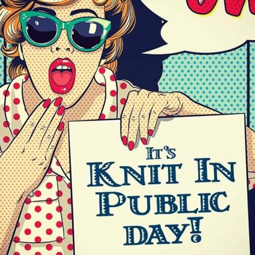 June Sisterhood Circle & Knit in Public Day