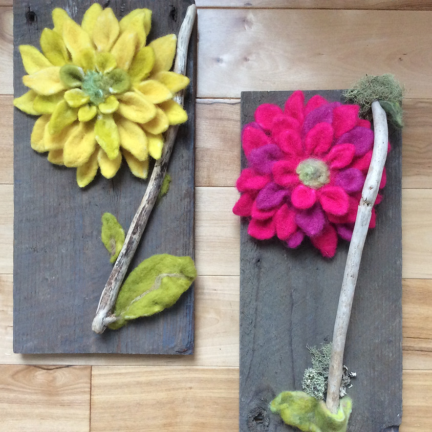 Felted Flowers Workshop - April 27