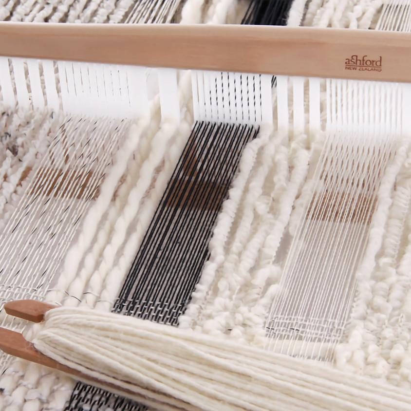 Beginner weaving on a Rigid Heddle Loom -  Friday July 12