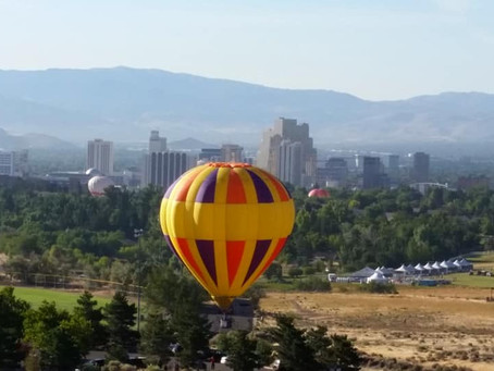 Great Reno Hot Air Balloon Races