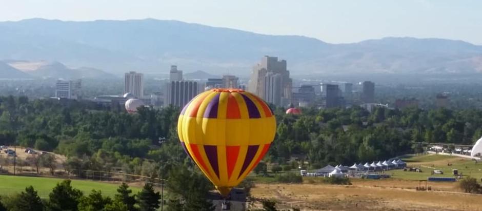 Great Reno Hot Air Balloon Races