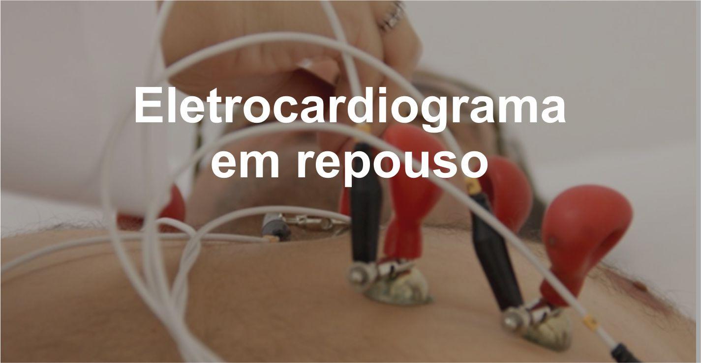 Eletrocardiograma em repouso