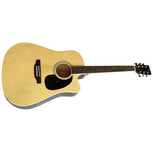 Pluto HW41C-201 Acoustic Guitar Natural