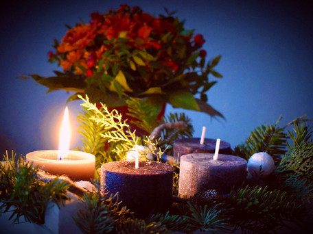 The most wonderful time of the year: the beauty of advent and Christmas.