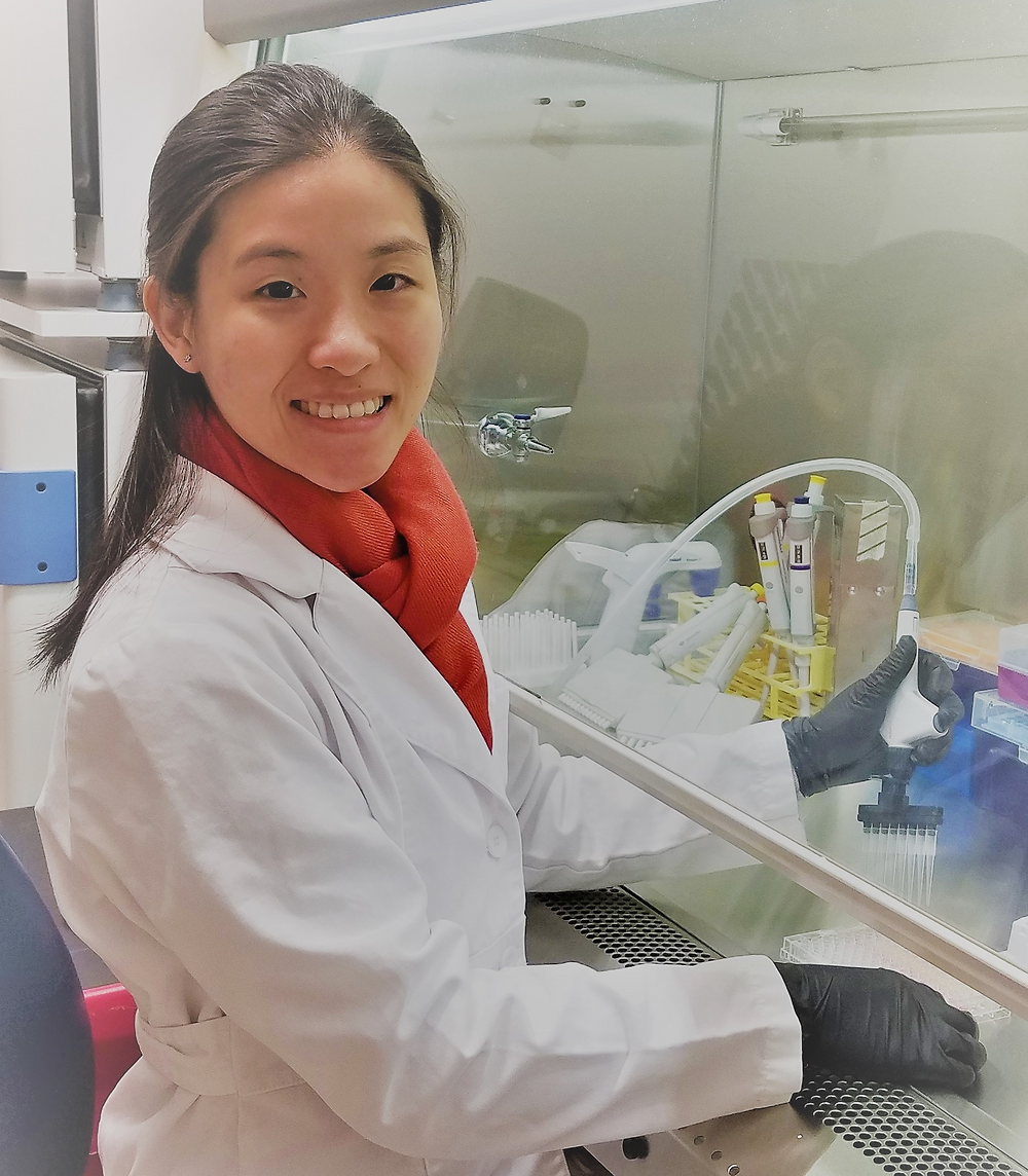 MCBB graduate student Clarissa Santoso joins the lab!