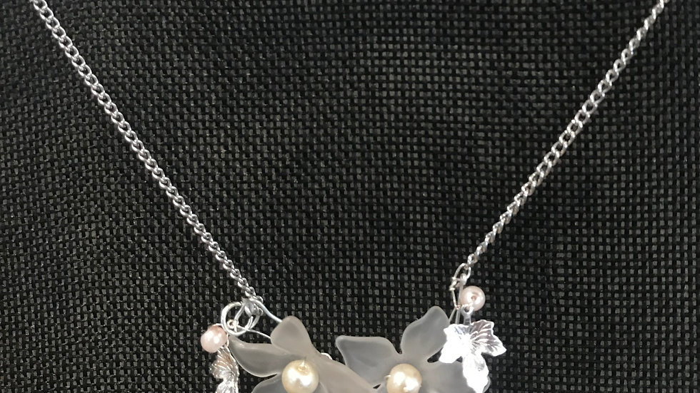 Double Blossom Necklace