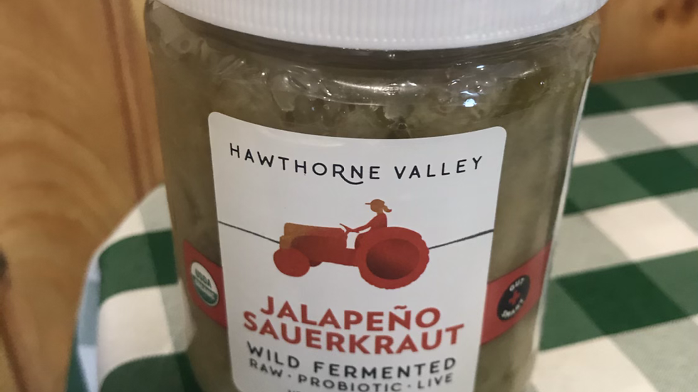 Jalapeño Saurkraut - Hawthorne Valley Farms